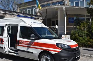 Сєвєродонецька багатопрофільна лікарня поповнилася власним спецавтомобілем швидкої допомоги