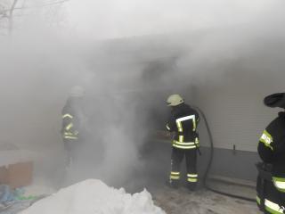 Рятувальники ліквідували загоряння торгівельного модуля
