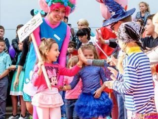 Карнавальное шествие ко Дню города в Северодонецке