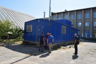 В Северодонецке устанавливаются новые современные блочно-модульные пеллетные котельные