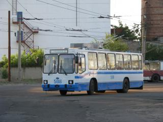 КП «СТрУ» відновлює рух тролейбусів по проспекту Центральному