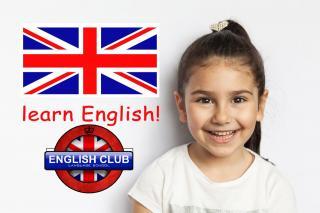 Школа английского языка «English Club» набирает маленьких студентов на занятия!