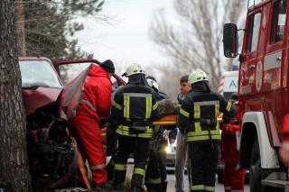 Четверо пострадавших в результате аварии в Северодонецке