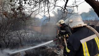 Оперативна інформація щодо пожеж в екосистемах на території Луганської області