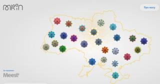 МКІП створило Цифрову мапу подій до Дня Незалежності України