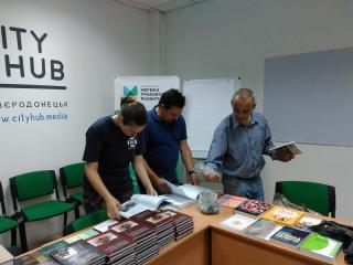 В Сєвєродонецьку обмінювалися книжками