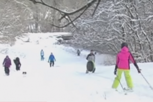Не хуже Буковеля: В Лисичанске изобрели свой горнолыжный курорт