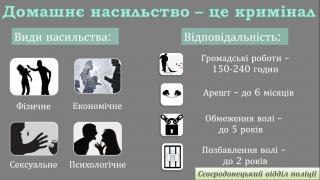 Увага! Кримінальний Кодекс України доповнився статтями про відповідальність за домашнє насильство