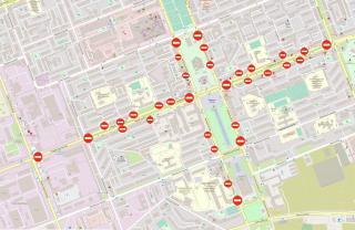 Увага! Перекриття дорожнього руху 14 жовтня